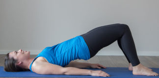Can I perform exercises on my back when pregnant?