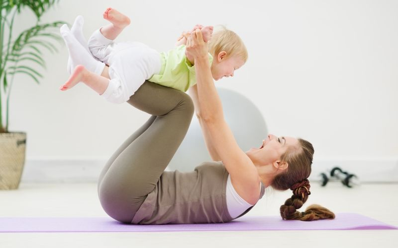 Starting Exercise After Giving Birth