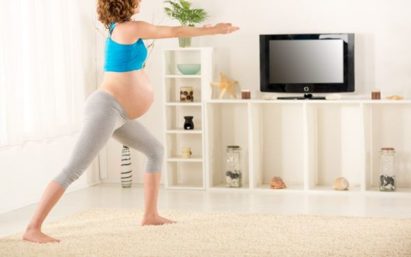 Third trimester exercise before baby