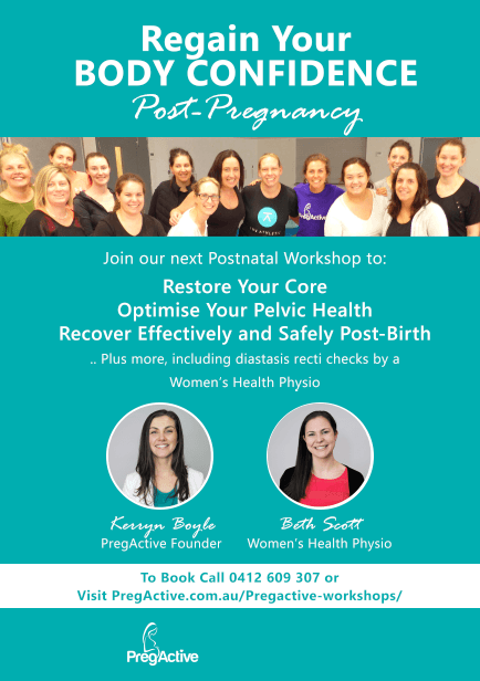 Post Pregnancy Workshop