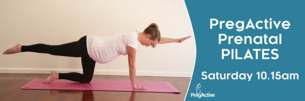 Prenatal PILATES Blackburn on Saturdays