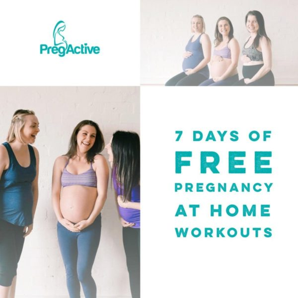 7 Days of Free At Home Pregnancy Workouts