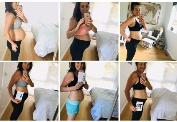 My body changes after doing my postpartum exercise program