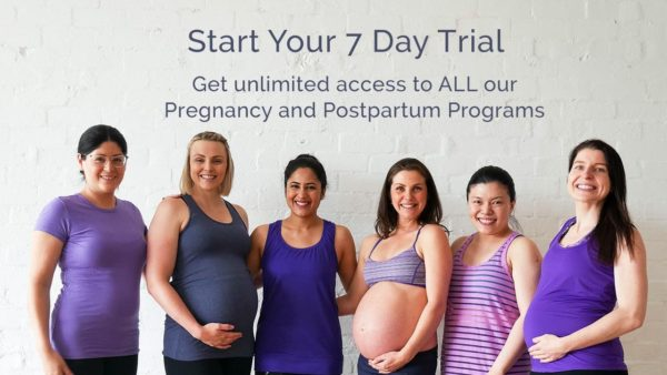 Start Your FREE PregActive Trial for Pregnancy and Postpartum Workouts Online