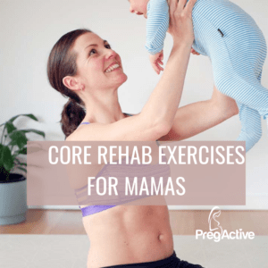 Free core exercises after pregnancy